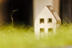 Disposición minimalista de la casa Fotografía de archivo libre de regalías