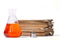 Disposición química Fotos de archivo