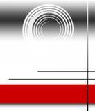 Disposición roja de la ilustración Foto de archivo libre de regalías