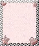 Disposición rosada del boutique Imagen de archivo