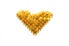 Disposit of the capsules cod-liver oil 2 Stock Image