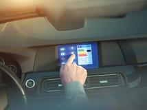 Dispositif à la maison intelligent - contrôle à la maison Images stock