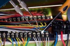 Dispositif électrique photographie stock