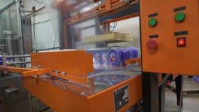 Dispositif d'emballage automatique à l'installation laitière au travail clips vidéos