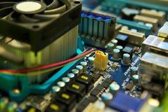 Dispositif d'ordinateur électronique. Images libres de droits