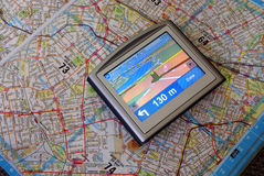 Dispositif de GPS Photos stock