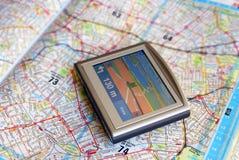 Dispositif de GPS photos libres de droits