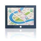 Dispositif de navigation de généralistes Photos libres de droits