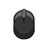 Dispositif de PC de souris Photos libres de droits