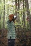 Dispositif de réalité virtuelle à l'ensemble Photos libres de droits