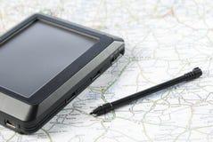 Dispositif de système de localisation mondial Images libres de droits