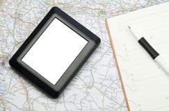 Dispositif de système de localisation mondial Photographie stock libre de droits