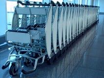 Dispositif de transporteur de bagage. image libre de droits