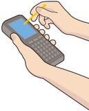 Dispositif mobile illustration libre de droits
