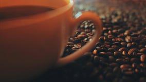 Dispositif pour la torréfaction de grains de café Photographie stock libre de droits