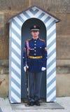 Dispositif protecteur - château de Prague image stock