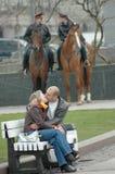Dispositif protecteur de baiser Photographie stock libre de droits