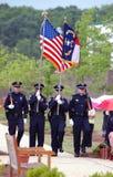 Dispositif protecteur de couleur de police. photographie stock libre de droits