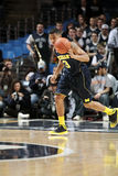 Dispositif protecteur Trey Burke du Michigan Photographie stock libre de droits