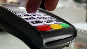 Dispositif sans argent de paiement banque de vidéos