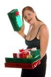 Dispositif trembleur de cadeau Photographie stock