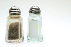 Dispositif trembleur de sel et de poivre Photographie stock libre de droits