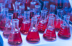 Dispositif trembleur de tube d'essai en laboratoire photos stock