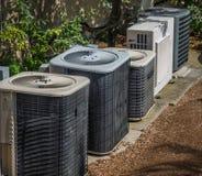 Dispositifs climatiques de chauffage et  Image libre de droits