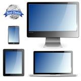 Dispositifs d'ordinateur Photo libre de droits