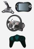 Dispositifs de jeu vidéo Photographie stock libre de droits