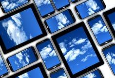 Dispositifs de nuage illustration stock