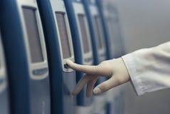 Dispositifs de pointe pour des diagnostics in vitro photos libres de droits