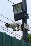 Dispositifs de sécurité Photographie stock