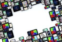 Dispositifs de vue illustration de vecteur