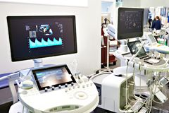 Dispositifs médicaux pour l'ultrason photos libres de droits