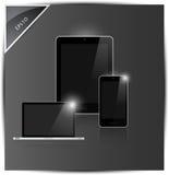 Dispositifs mobiles illustration stock