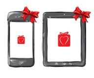Dispositifs mobiles Photos stock