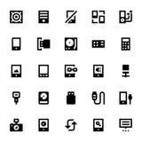 Dispositifs mobiles et intelligents 4 Photographie stock libre de droits