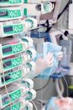 Dispositifs pour le traitement des patients images stock