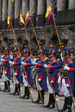 Dispositifs protecteurs à Quito Photos stock