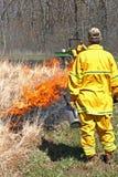 Dispositifs protecteurs d'un Burning contrôlé Photo stock