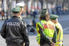Dispositifs protecteurs de police Image libre de droits