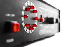Dispositifs rouges de LED photo libre de droits