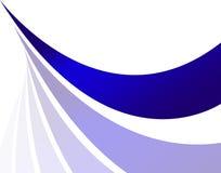 Disposition abstraite de Swoosh illustration de vecteur