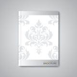 Disposition abstraite moderne de calibre pour la brochure Image stock