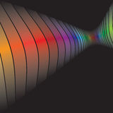 disposition abstraite swirly Images libres de droits