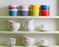 Disposition d'étagère de cuisine Image stock