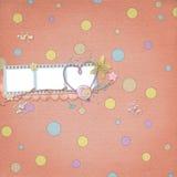 Disposition d'album illustration stock