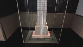 Disposition d'Empire State Building dans le hall banque de vidéos