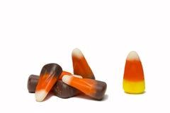 Disposition de bonbons au maïs Photo stock